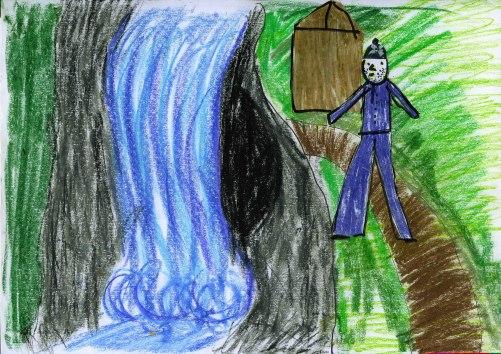 Am Höhleneingang